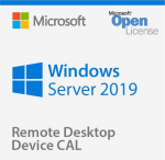 Win Rmt Dsktp Svcs CAL 2019 English MLP 5 Device CAL (6VC-03804)