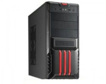 Case Magnum H650R Black-Red (450W MidiTower ATX)
