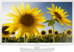 "24"" LED TV Samsung UE24H4080AUXUA White (1366x768 HD 1xHDMI 1xUSB Speakers 10W)"