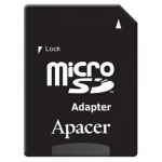 128GB microSD Apacer AP128GMCSX10U5-R Class 10 UHS-I SD adapter (R/W:85/20MB/s)