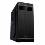 Case Sohoo 5907BS Black-Silver(500W 12cm Miditower ATX)