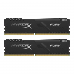 DDR4 16GB (Kit of 2x8GB) Kingston HyperX FURY Black HX432C16FB3K2/16 (3200MHz PC4-25600 CL16 1.2V)