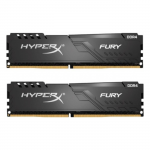 DDR4 16GB (Kit of 2x8GB) Kingston HyperX FURY Black HX437C19FB3K2/16 (3733MHz PC4-29800 CL19 1.2V)