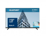 "32"" LED TV Blaupunkt 32WE966 Black (1366x768 HD Smart TV 2xHDMI USB Speakers 2x6W)"