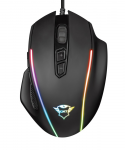 Mouse Trust Gaming GXT 165 Celox RGB Black USB