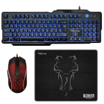 Gaming Keyboard & Mouse & Mouse Pad Qumo Viper USB