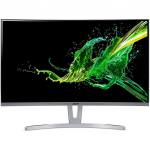 "27.0"" ACER ED273 UM.HE3EE.A01 White/Silver (VA LED  FullHD 1920x1080 250cd 4ms 100M:1 144Hz HDMI DVI DP Curved Audio Line-out)"