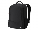 "15.6"" Notebook Backpack Lenovo ThinkPad Essential Black (Durable and Lightweight Nylon Side Water Bottle Holder)"